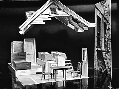 death of a salesman house