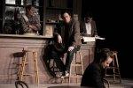 Derek Boyes, Gregory Prest, Mike Ross & Karen Rae - A broody moment during rehearsal.