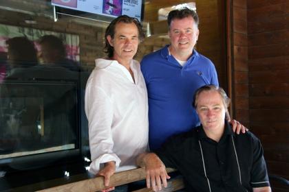 Stuart, Michael & Derek