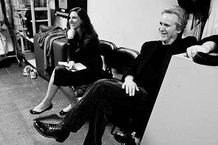 Katie in rehearsal with Joseph Ziegler